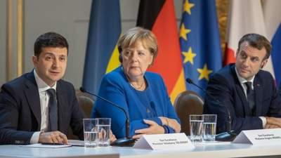 """Я равный им президент, – Зеленский о возможности """"рассориться"""" с Макроном и Меркель"""
