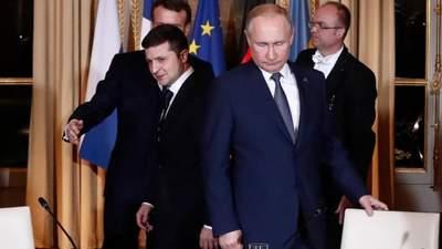 Сегодня мяч на стороне России, – Зеленский о встрече с Путиным