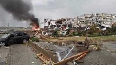 Ужасный торнадо в Чехии: количество пострадавших возросло вдвое