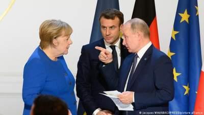 Украина требует объяснений от Франции и Германии за инициативу относительно саммита Россия – ЕС