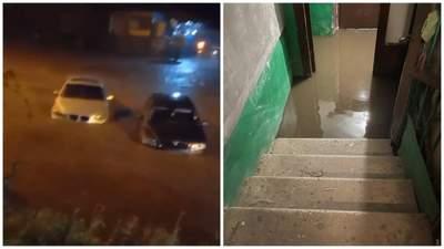 В Одессе разрушительное наводнение: самолеты не могли приземлиться, много авто и домов затопило
