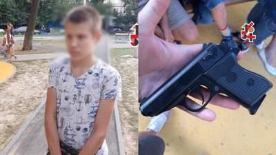 В Харькове школьник устроил стрельбу на детской площадке: есть пострадавшие