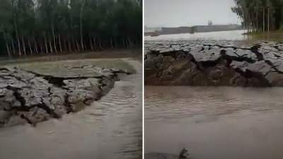 Земля почала рости на очах: у мережі показали унікальний природний феномен в Індії – відео