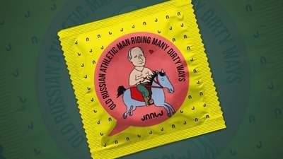 ЕСПЧ разрешил компании в Грузии производить презервативы с фото Путина