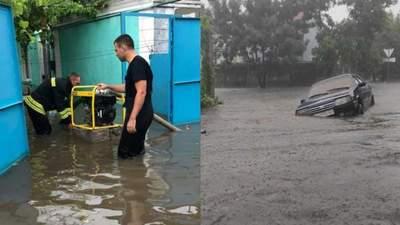 Затопленные дома и даже погибшие: Украина пережила страшную непогоду – видео