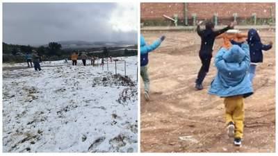 Пока в Украине жара: Африку засыпал снег, морозы бьют рекорды – видео