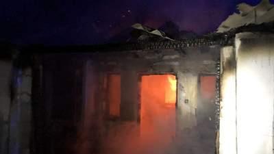На Николаевщине во время пожара погибла пожилая женщина