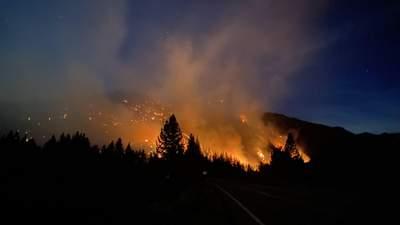 Горит почти весь запад США: лесные пожары охватили уже 12 штатов