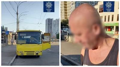 Патрульные Киева обнаружили 2 пьяных водителей за рулем маршруток: их отстранили