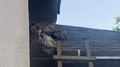 На Черкащині в будинок підприємця кинули гранату: фото