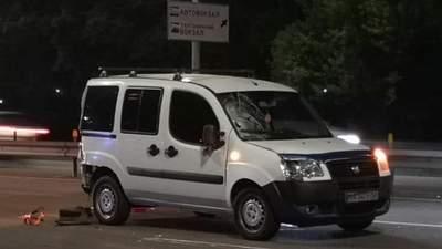 У Києві під колесами легковика загинув пішохід: перебігав дорогу у недозволеному місці