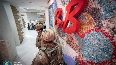 СБУ опечатала всі магазини B2B Jewelry: фото, відео