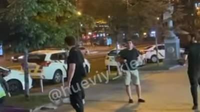 В центре Киева второй раз за неделю произошла масштабная драка с резней