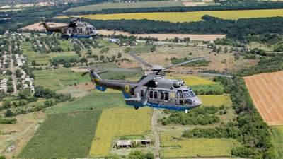 Ко Дню Независимости: Нацгвардия начала тренировки на французских вертолетах – фото