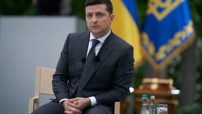 Я масок там не видел, –  Зеленский раскритиковал крестный ход УПЦ МП в Киеве