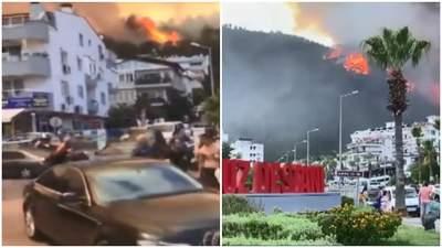 Пожары в Турции подобрались вплотную к курортным Мармарису и Бодруму: людей эвакуируют – видео