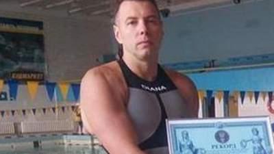 В Белой Церкви преждевременно ушел из жизни рекордсмен по жиму штанги под водой