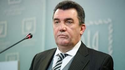 РНБО вже точно збереться на Донбасі: Данілов назвав ключові питання