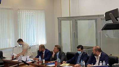 Суд розглядає апеляцію на запобіжний захід Медведчуку: фото, відео