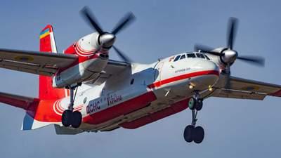 Українські пожежні літаки вже вилетіли на допомогу у Туреччину: фото