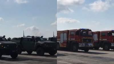 В Чернигове провели репетицию военного парада ко Дню Независимости: фото