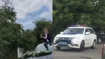 Жених на Буковине устроил стрельбу на собственной свадьбе
