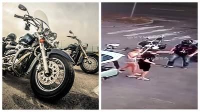 В Черкассах группа байкеров избила молодых парня и девушку: позиция сторон