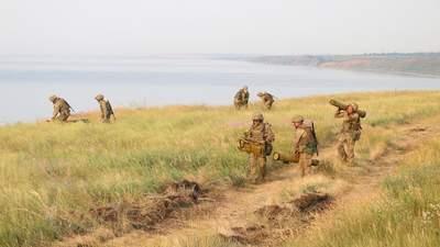 ВСУ в зоне ООС отработали удары по морскому десанту врага: мощные фото