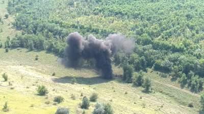 Под Николаевом нашли и взорвали более 500 снарядов с прошлых войн: фото