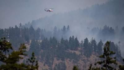 Провінція – в диму: на заході Канади спалахнули масштабні лісові пожежі