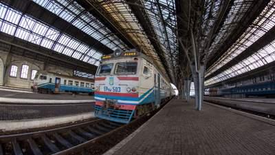 Из-за непогоды на Западной Украине задерживаются 9 поездов: список