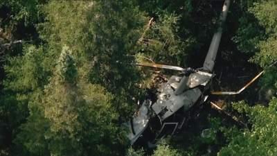 В Калифорнии упал вертолет: есть погибшие