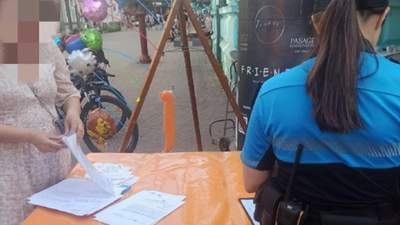 Через місце для торгівлі: в Івано-Франківську продавчиня облила вуличних музикантів водою