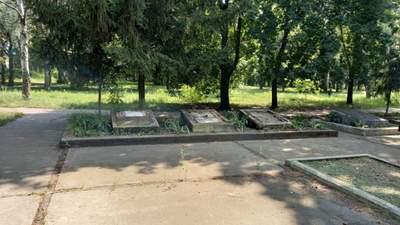 Повредили мемориал погибшим воинам на Днепропетровщине: фото
