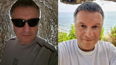 """""""Вихід з внутрішніх органів"""": Аваков похвалився фото з Італії, а Луценко його потролив"""