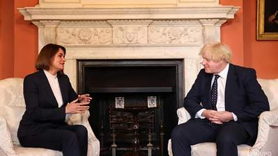 Тихановська зустрілася з британським прем'єром Джонсоном – Голос Америки