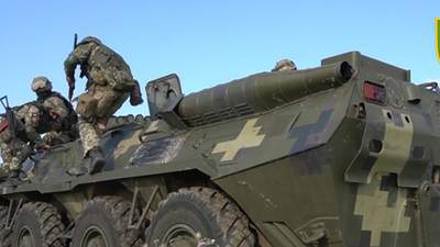 """""""Крилаті піхотинці"""" ЗСУ тренувалися знищувати ворога на адмінмежі з окупованим Кримом: відео"""