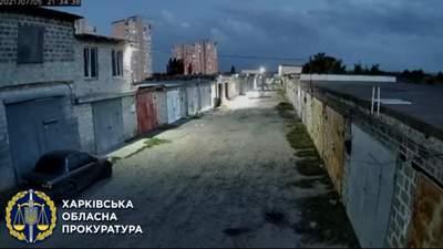В Харькове хотели похитить человека, потому что он задолжал 15 тысяч гривен: видео