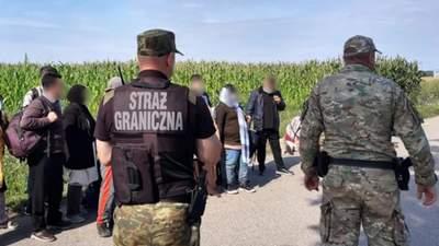 На кордоні Польщі та Білорусі затримали рекордну кількість мігрантів