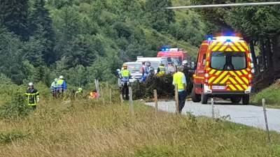 Во Франции разбился самолет с туристами: есть погибшие и раненые