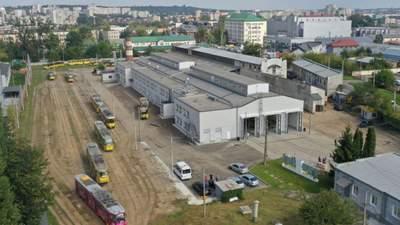 У Львові нарешті відкрили оновлене головне трамвайне депо: цікаві фото