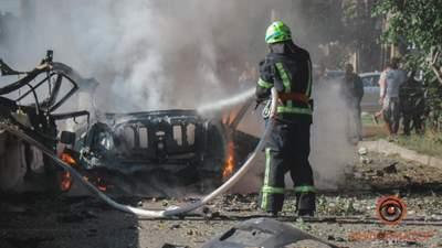Теракт у Дніпрі: все, що відомо про вибух авто і загиблих – фото, відео
