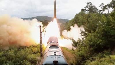 Залізничні війська Кім Чен Ина: КНДР запустила ракети з потяга