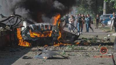 Кримінальні розборки і війна: ймовірні версії вибуху авто у Дніпрі