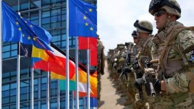 У Євросоюзі задумати створити свою армію окремо від НАТО