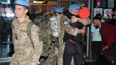 Из Конго вернулись более 150 украинских миротворцев: эмоциональные фото