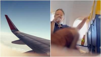 Чоловік посміхався на камеру: пасажири літака зайнялися сексом просто на борту
