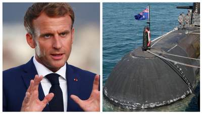 Франция отзывает послов из США и Австралии после скандала с подводными лодками