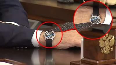 """""""Він на неї не дивиться"""": у Путіна прокоментували """"неправильну"""" дату на його годиннику"""