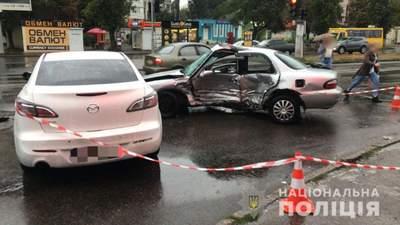 """Двинулся на """"красный"""": в Одессе произошло смертельное ДТП с участием полицейского"""